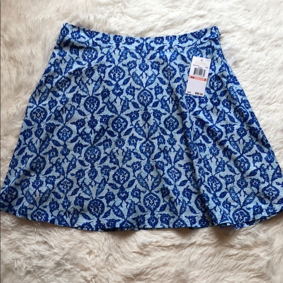 Michael Kors Dresses & Skirts - Michael Kors NWT shades of blue flowy mini skirt💙